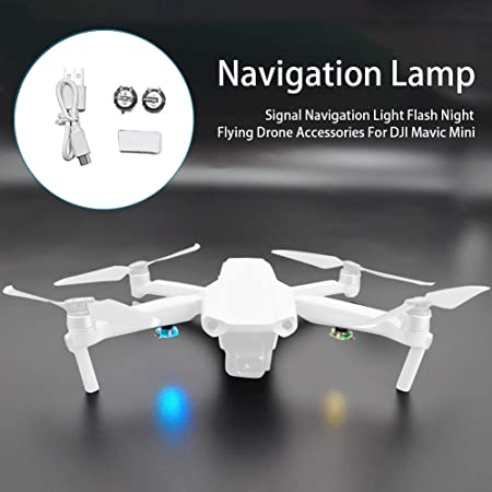 LED Light Night Navigation Light Strobe Lamp For DJI Mavic Mini Accessories UK