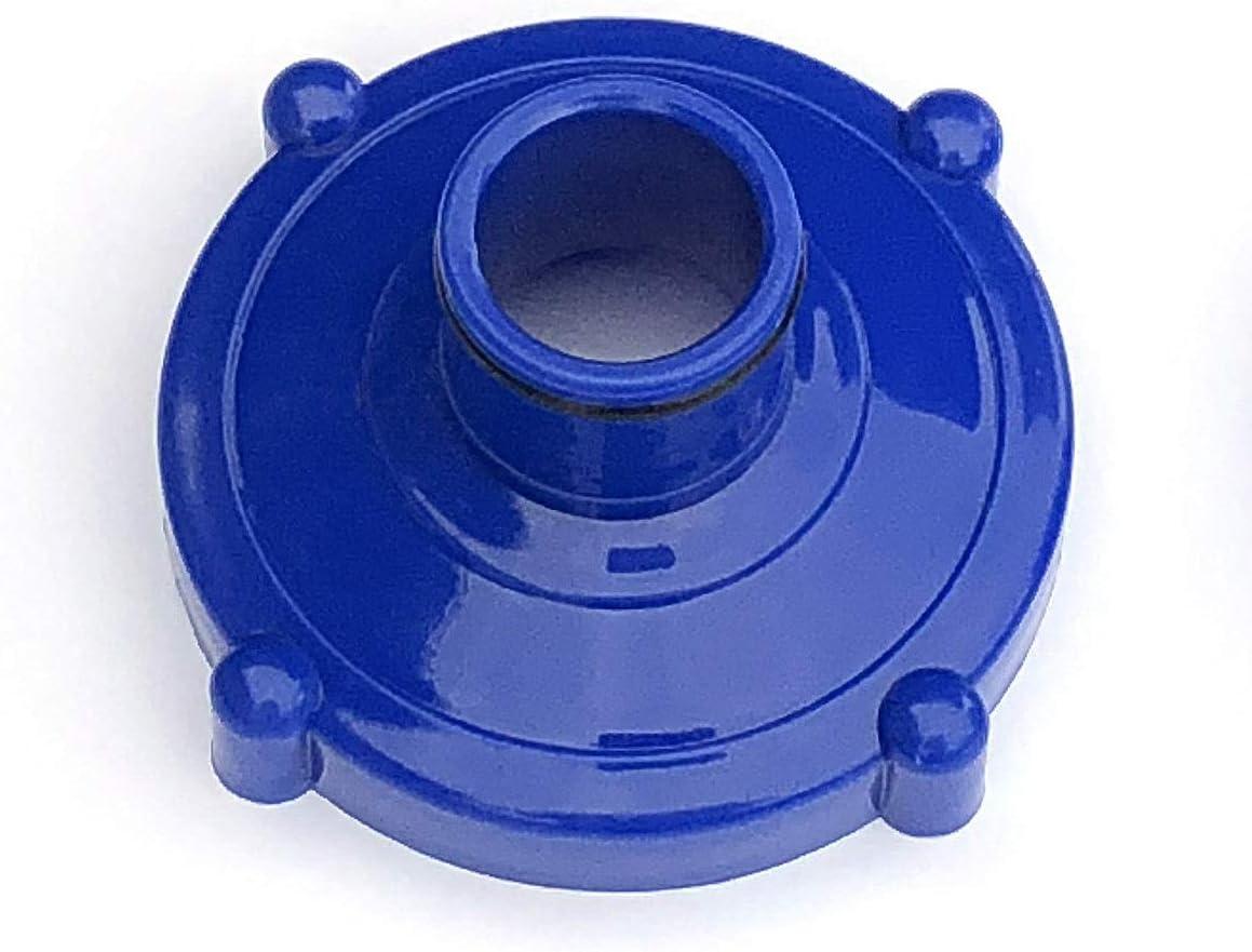 Algenschnapper Adaptador para filtros adicionales para Piscinas, Azul