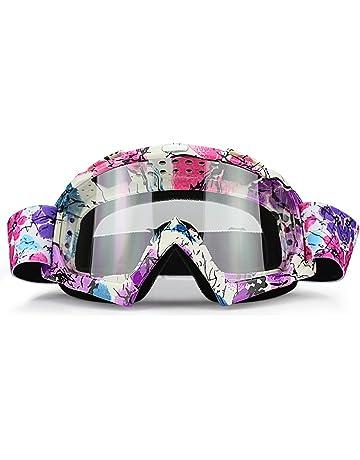 a95dfe032fb2 JAMIEWIN Adult Motorcycle Motocross Goggles ATV Racing Goggles Dirt Bike Mx  Goggle Glasses and Ski Snowborading