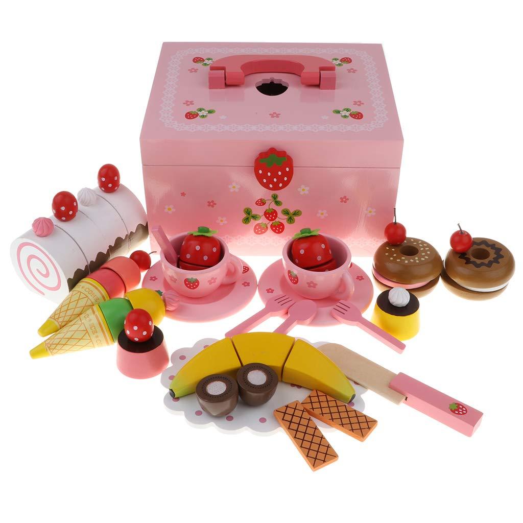 Homyl Lebensmittel Inkl Schneiden Spielzeug Set Inkl Lebensmittel