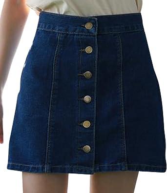 Mujeres Estilo Occidental Cintura Alta Slim Fit Corta Bodycon ...