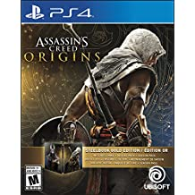 Assassins Creed Origins Gold Edition (Includes Steelbook + Extra Content + Season Pass subscription) - PlayStation 4