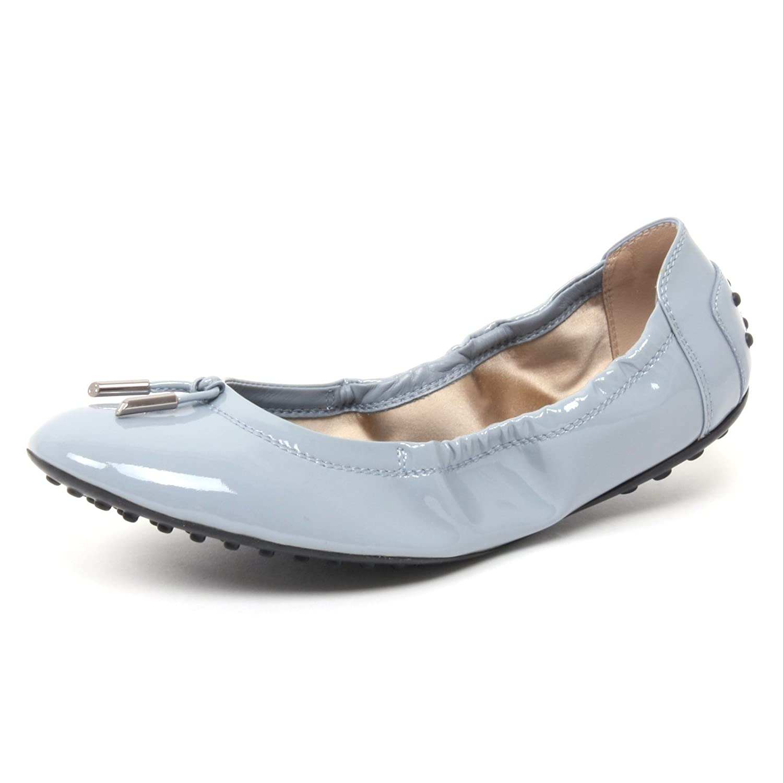 B4380 ballerina donna TOD'S DEE scarpa azzurro shoe shoe shoe woman Carta Da Zucchero c55850
