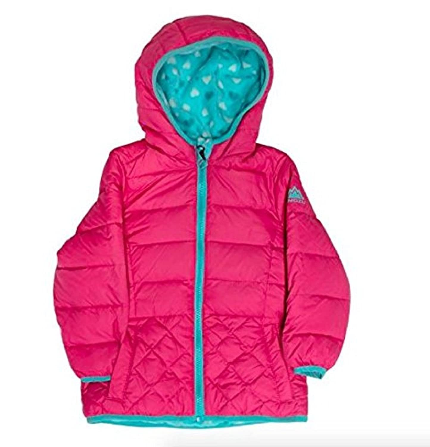 Amazon.com: Snozu Girls' Fleece Lined Down Jacket: Clothing