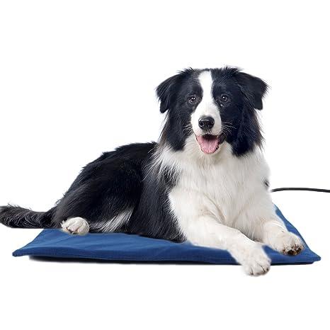 Namsan Colchoneta para mascotas eléctrica, bajo voltaje, para interior, para gatos, perros
