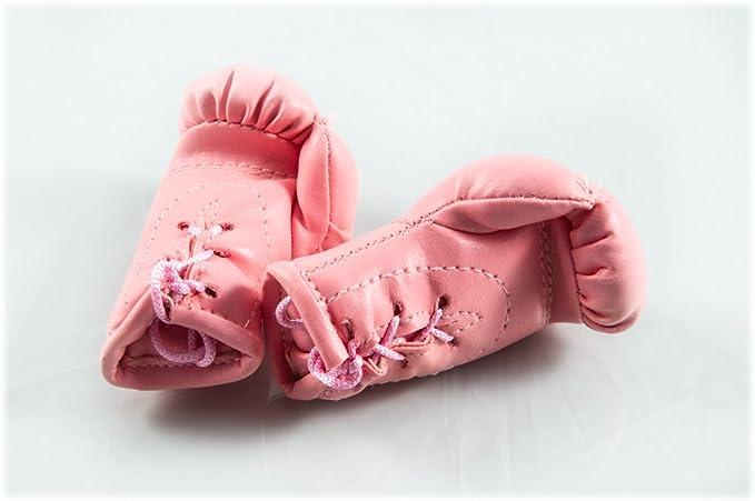 Sportfanshop24 Mini Boxhandschuhe Rosa Pink Hell 1 Paar 2 Stück Miniboxhandschuhe Z B Für Auto Innenspiegel Auto