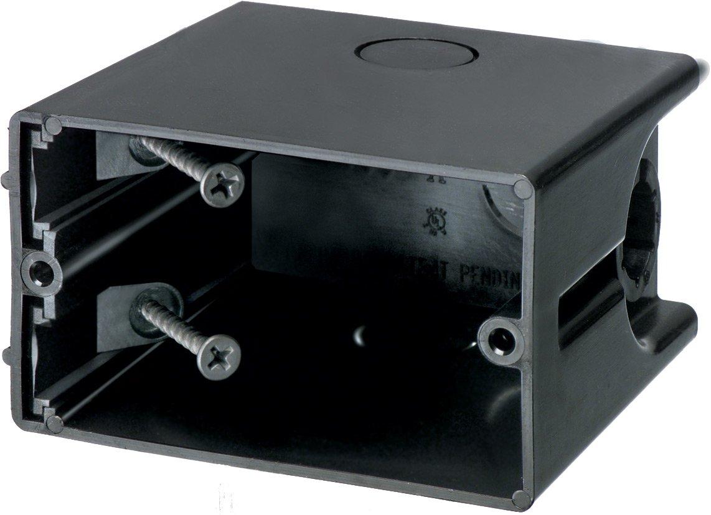 Arlington Industries F101H 1-Gang Horizontal Outlet Side Mount Box, 25-Pack,