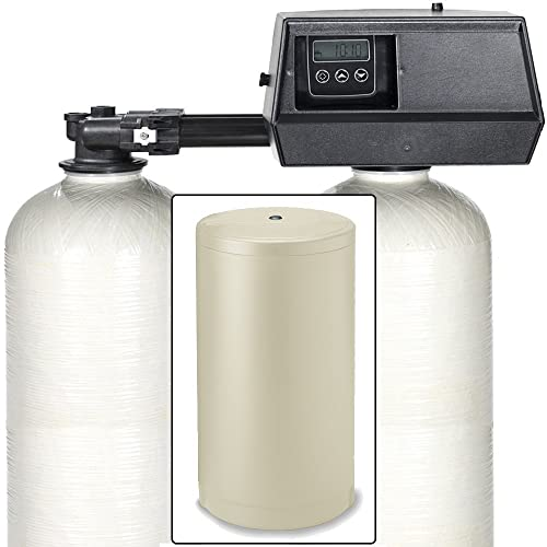 Fleck 9100SXT Dual Tank Water Softener 48,000 Grain