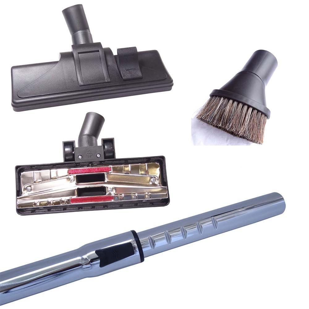 Hossi's Wholsale, Set per aspirapolvere AEG & Electrolux CE Powerline - Vampyr, incl. tubo da 35 mm, bocchetta per pavimenti e bocchetta con spazzola rotonda Cleanwizzard GmbH