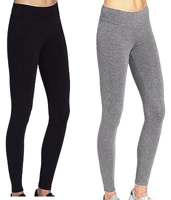 ABUSA Femme Yoga Legging Pantalon de Sport pour Fitness Gym Pilates Taille S  ( 2 PCS d7507cbceed