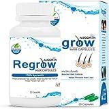 Regrow Hair Capsules Natural Regain Hair Regrowth Capsules For Men & Women - 100% Ayurvedic - Auggmin/Ogmin.in