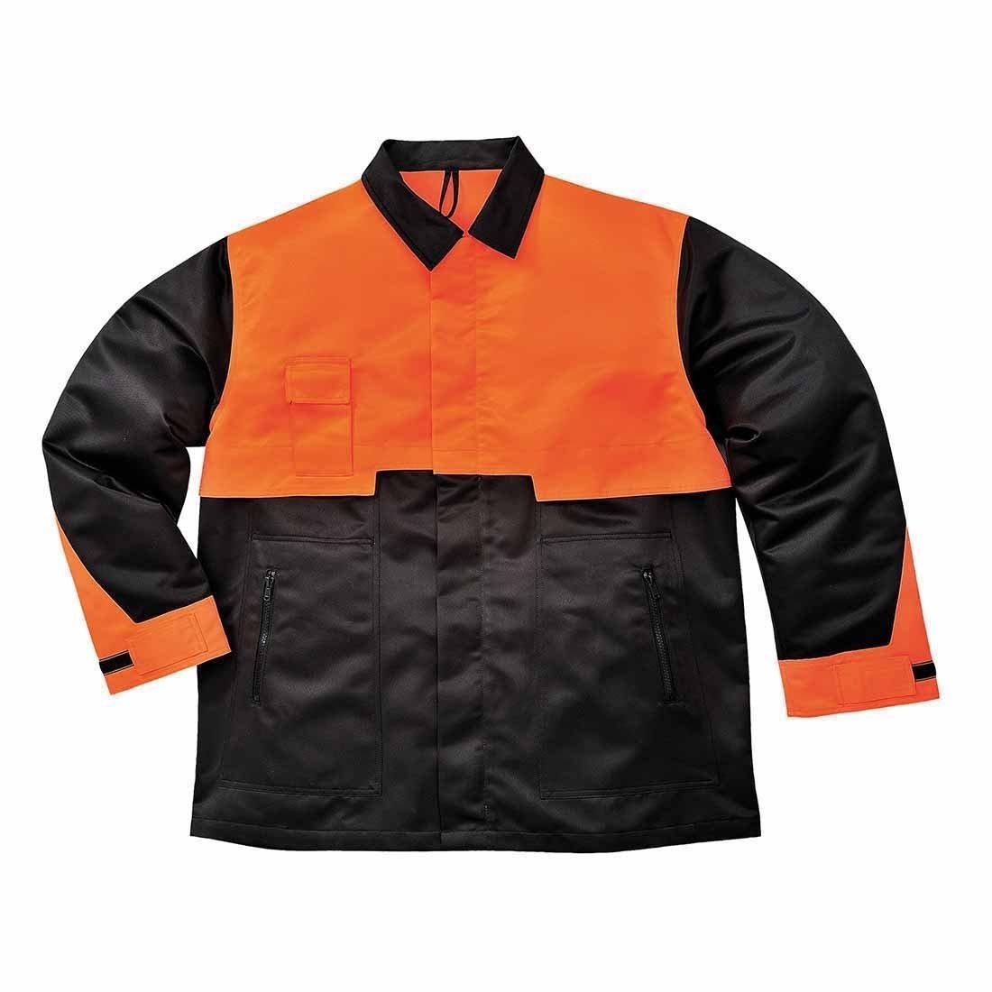 color Negro Portwest CH10 talla 3 XL chaqueta motosierra