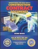 Understanding and Using Today's Construction Contract Documents, Hans W. Meier, 1889892254