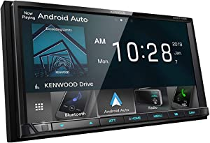 "Kenwood DMX7706S 6.95"" Digital Media Receiver w/Bluetooth, Apple CarPlay and Android Auto"