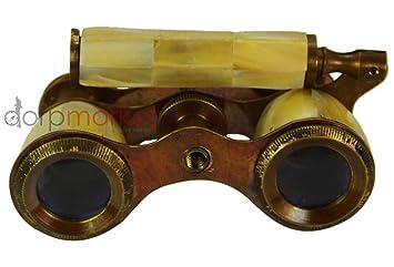 Antike opernglas fernglas monokular von mutter der perlen vintage
