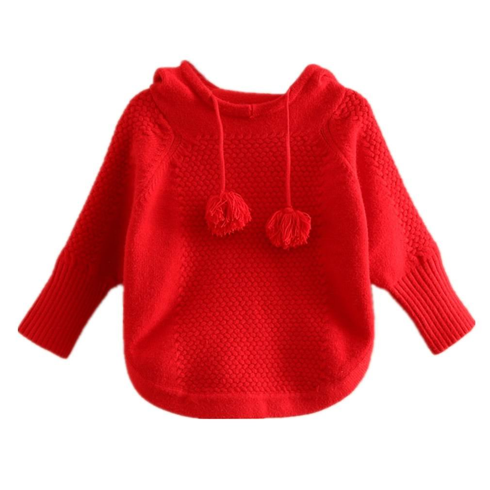 Motteecity Little Girls' Sweater Hoodies