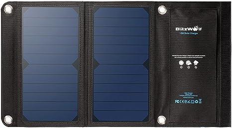 blitzwolf bw-l1 sunpower portable chargeur solaire