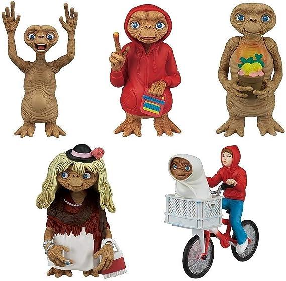 TOMY E.T. el Extraterrestre Juego Completo 5 Figuras Colección 6cm ...