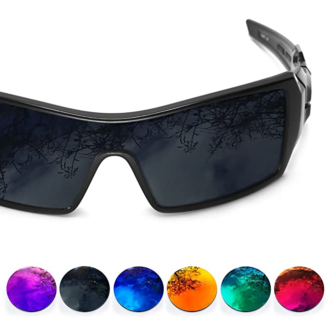 Sunglasses Restorer Lentes Para Oakley Oil Rig (Cristales Polarizados de Color Morado)