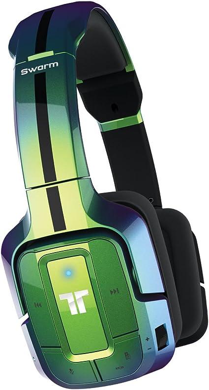 Mad Catz - Auricular Tritton Swarm Bluetooth, Color Verde ...