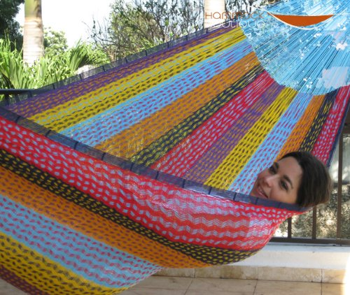 MEDIUM Mayan Hammock MULTICOLOR in NYLON
