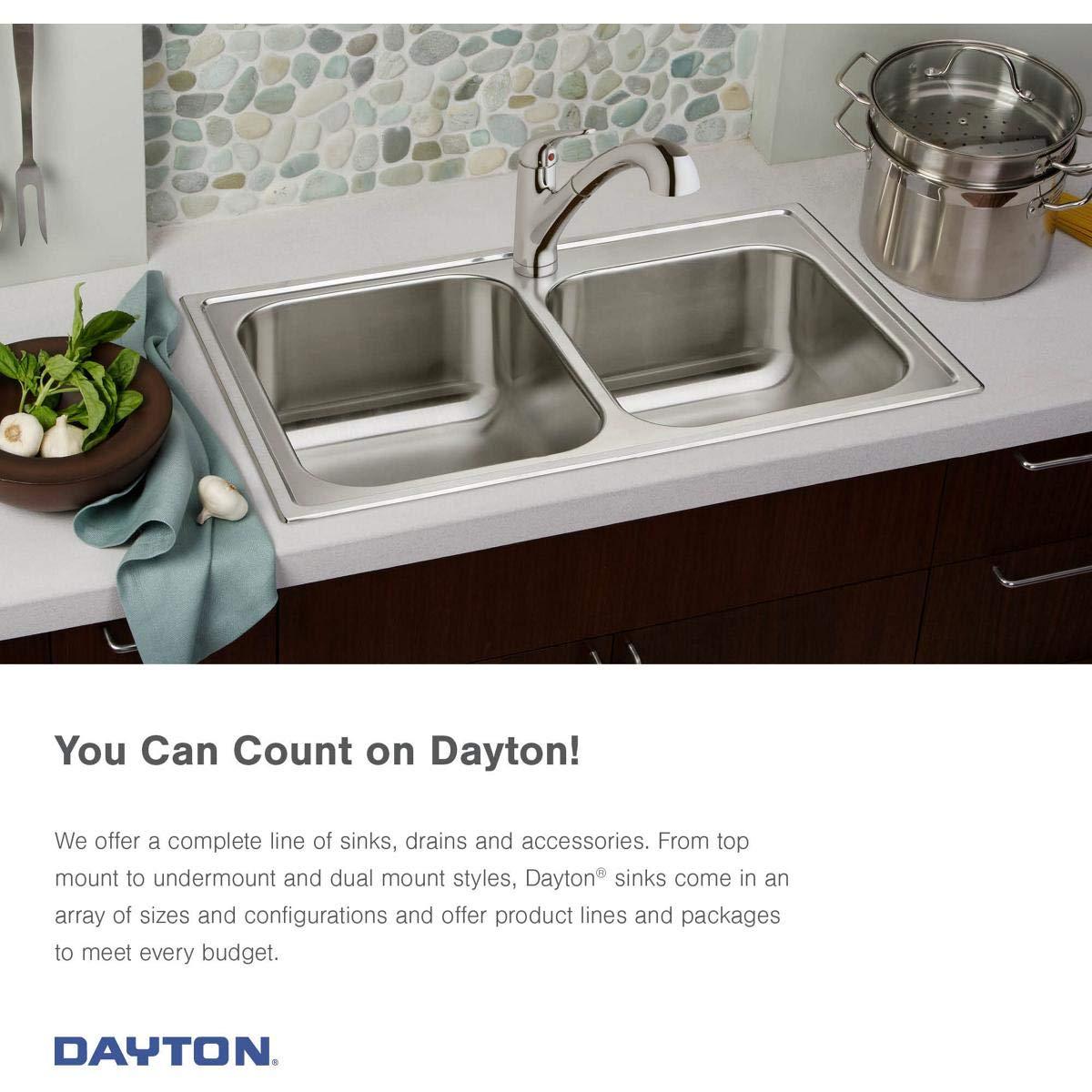 Elkay DE217323 Dayton Equal Double Bowl Stainless Steel Corner Sink by Elkay (Image #4)