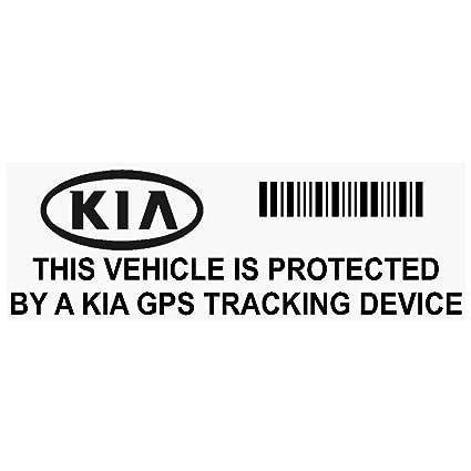 5 x ppkiagpsblk GPS negro dispositivo de seguimiento de seguridad ventana pegatinas 87 x 30 mm