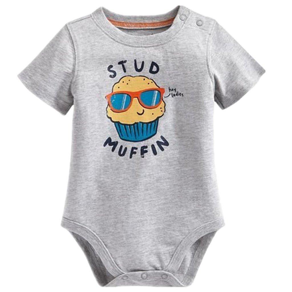 Baby Box Newborn Baby Boy Sleeveless Romper Jumpsuit One Piece