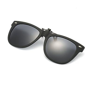 Gafa de Sol Polarizada con Clip de - Gafas Conducción/Golf/y ...