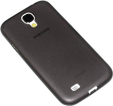 doupi UltraSlim Funda para Samsung Galaxy S4, Finamente Estera Ligero Estuche Protección, Negro: Amazon.es: Electrónica