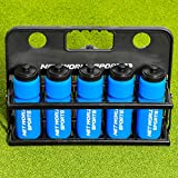 Net World Sports Sports Drink Water Bottle Carrier - with or Without Bottles. Stay hydrated and Perform to Your Best Ability (Carrier & 10 Water Bottles)