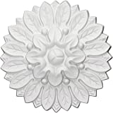 Ekena Millwork ROS06X06CH 6-Inch Od X 1 1/8-Inch P Chesterfield Rosette