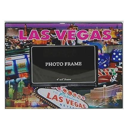 Amazon Las Vegas Picture Frame 4x6 Fuchsia Las Vegas