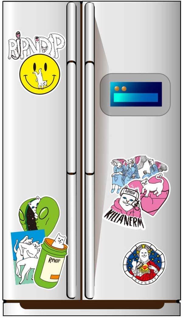 baihua Paquete de Pegatinas para Port/átiles RipNDip Pegatina Pegatinas para Patinetas de Graffiti Etiqueta para Equipaje de Dibujos Animados de Port/átiles 50 Piezas