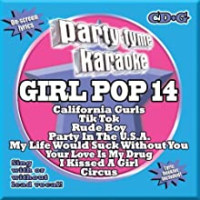 Party Tyme Karaoke - Girl Pop 14 [8+8-song CD+G]