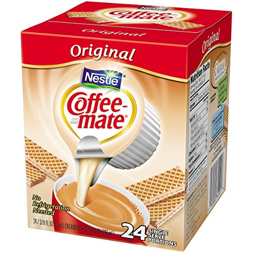 Coffee-mate Original Liquid Coffee Creamer 24 ct Singles, 9 fl oz