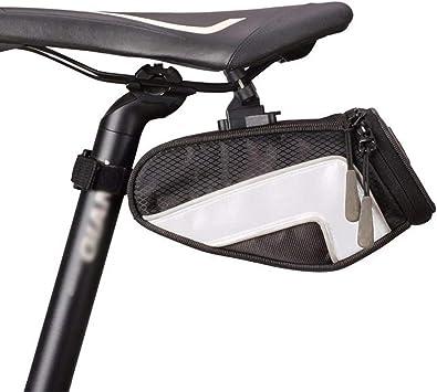BOLSAS De SillíN para Bicicleta, Impermeable, Bicicleta Nylon Cola ...