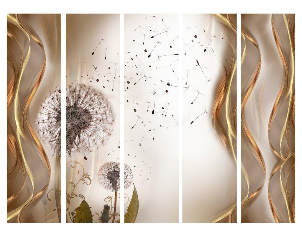 murando Paravento /& Lavagna di Sughero 135x172 cm Stampa bilaterale su Tela in TNT 100/% Non Trasparente Parete Divisoria Interno Separatore Stanza b-B-0133-z-b