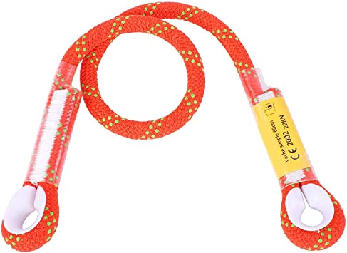Alomejor Cuerda de Seguridad para Escalada con rodamiento de Anillo