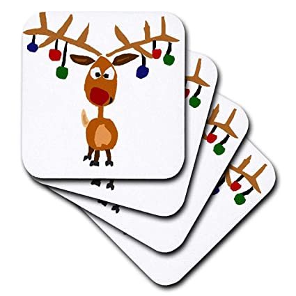 16c7929a3 Amazon.com: 3dRose Funny Rudolph The Red Nosed Reindeer Christmas ...