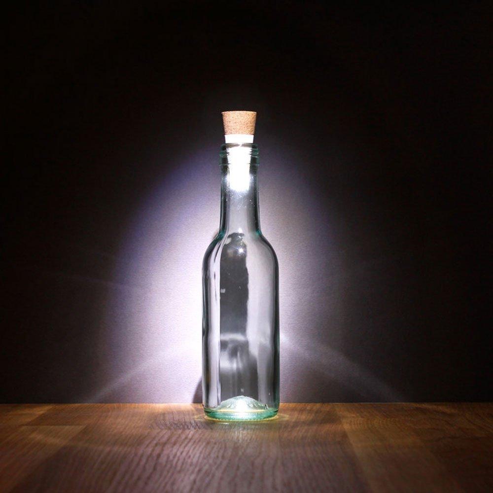 Shine-Co Luces LED para Botellas para Fiestas y Navidades Recargables por USB con Forma de Corcho 2 Paquetes: Amazon.es: Bricolaje y herramientas