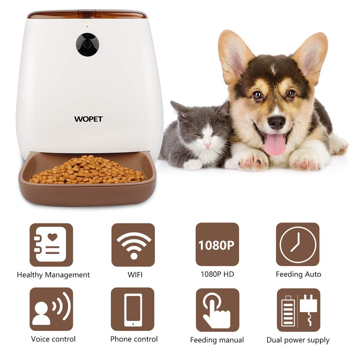 Pet Supplies Cameras & Monitors alpha-ene.co.jp WOPET SmartFeeder ...