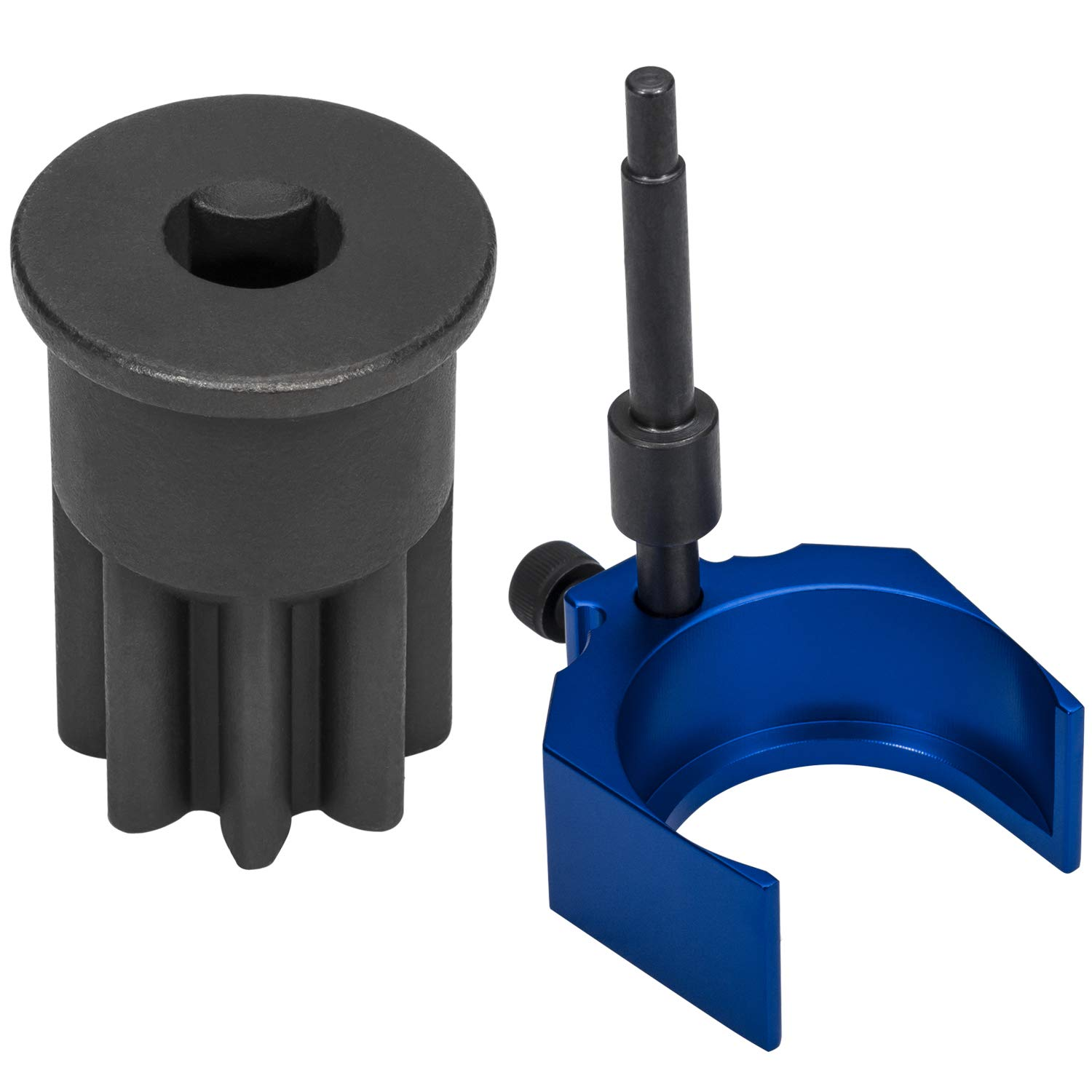 Injector Height Tool for Caterpiller 3406E, C-15 and C-16, Alternative to 9U-7227 and Engine Barring Socket for Caterpillar 3200/3406 Series & Mack E-7, E7 ETEC, Similar to J-38587-A