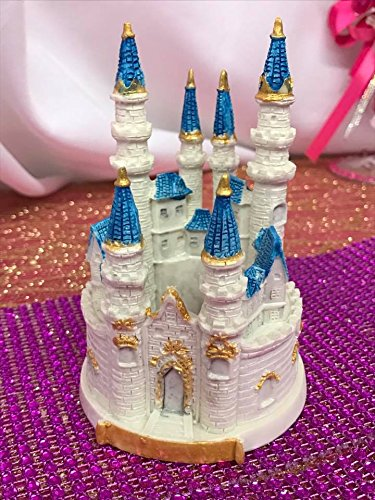 Fairy Tale Castle Cake Favor Decoration Keepsake Gift Wedding Birthday Party (Castle Cake Decoration)