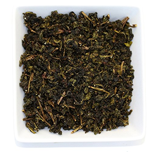 Tealyra - Huang Shan Bao Zhong - Taiwanese Oolong Tea - Great Green Oolong Loose Leaf Tea - Organically Grown - 110g (4-ounce)