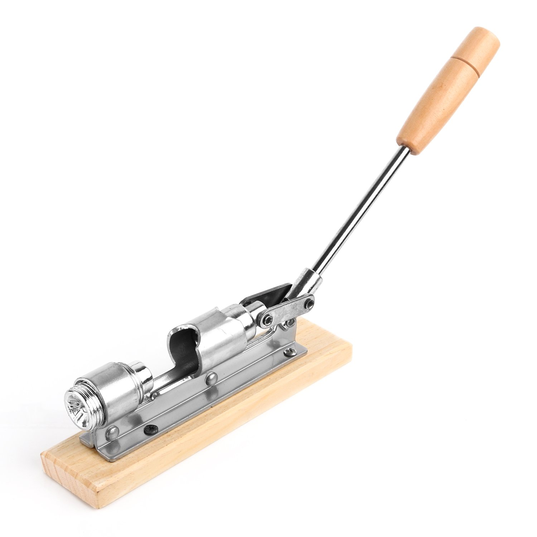 Anwenk Nutcracker Heavy Duty Nut cracker Pecan Cracker Walnut Cracker Plier Opener Tool Desktop Wood Base /& Handle Updated