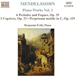 Mendelssihn: Piano Works 1: 6 Preludes