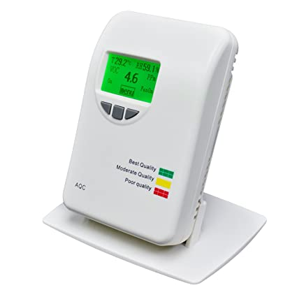 Amazon.com: VOC Tester for Home Type Indoor Offices Bedrooms 0~50ppm Air Quality IAQ Meter Detector Temperature, Humidity, Air Contaminants: Home ...