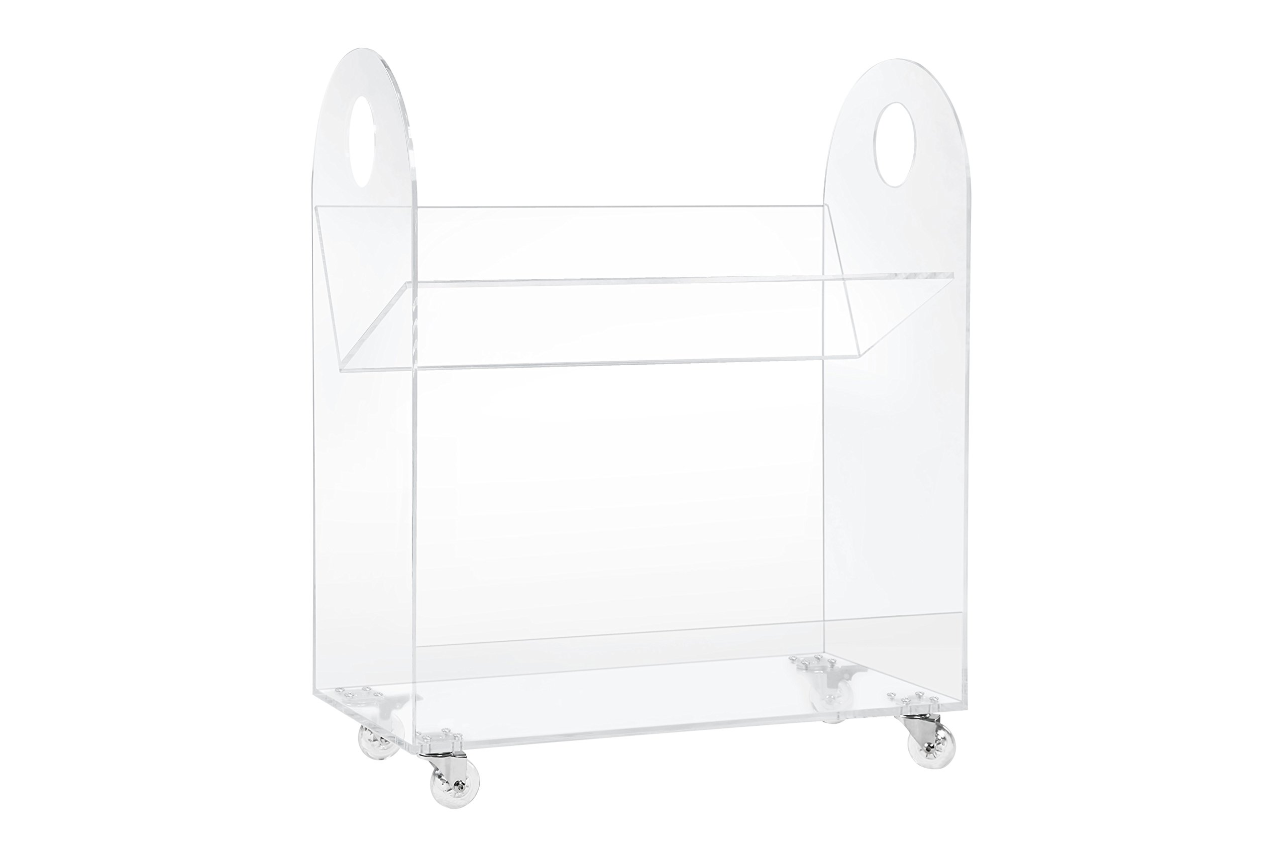 Babyletto Presto Bookcase and Cart, Acrylic