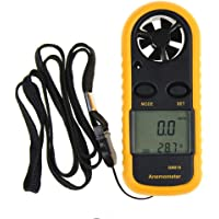 HITTIME Owner Digital Anemometer Handheld Wind Speed Meter for Measuring Wind Speed, Temperature and Wind Chill with Backlight and Max/Min